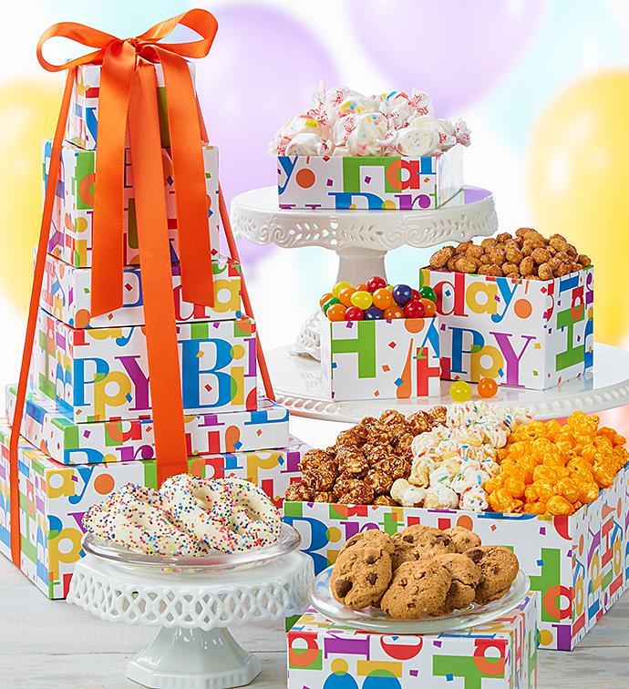 Big Happy Birthday Towers