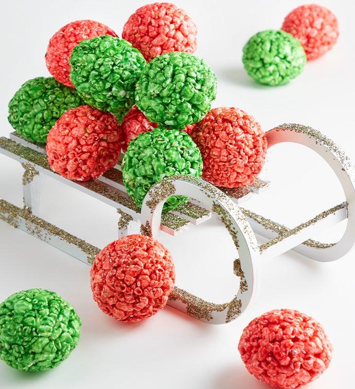 Holiday Popcorn Balls