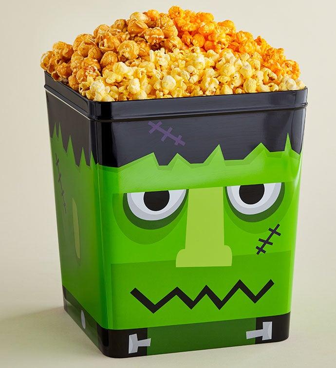Monster Mash Frankenstein 3 Gallon Popcorn Tin