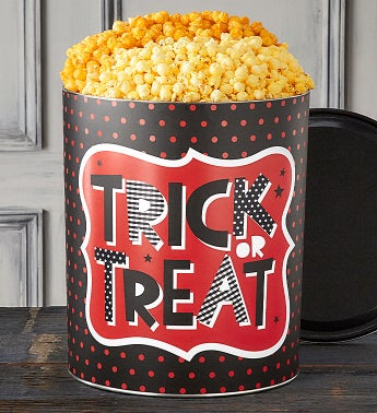 Trick Or Treat 6 12 Gallon Popcorn Tins