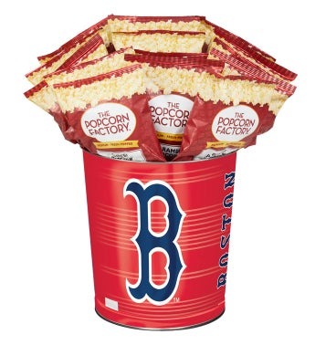 Boston Red Sox 3-Flavor Popcorn Tins