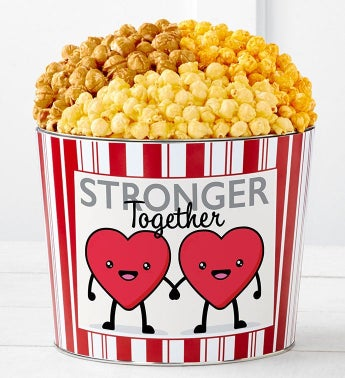 Tins With Pop Hearts Stronger Together