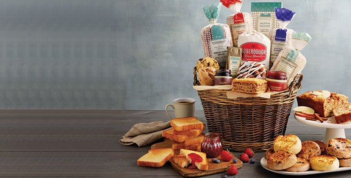 Bake Someone happy. Give a thoughtful gourmet gift brimming with delicious bakery delights. SHOP ALL