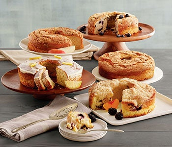 Discover an array of flavorful cakes to share.