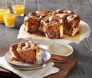 Enjoy pastries, cinnamon rolls, monkey breads, and sticky buns.
