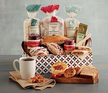 Send a beautiful gift of baked goods for any occasion.