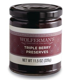 Triple Berry Preserves 11.5 oz