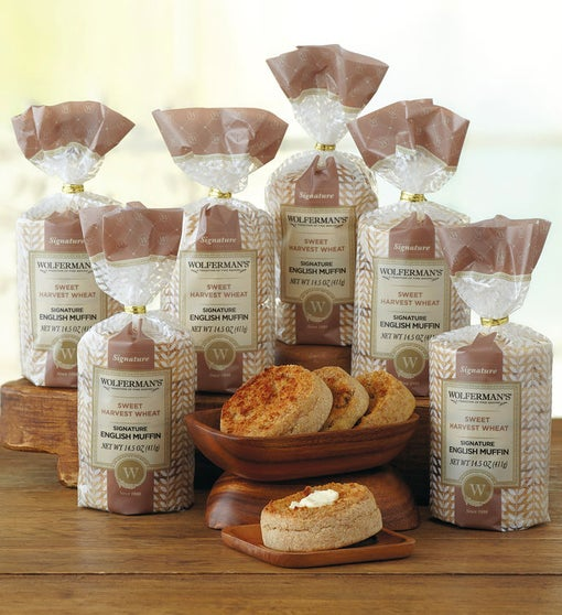 Sweet Harvest Wheat Signature English Muffins - 6 Packages