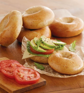 Davidovich Bakery Whole Wheat Bagels