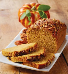 Pumpkin Pecan Tea Bread