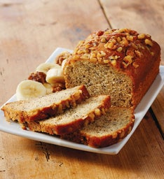 Banana Nut Tea Bread