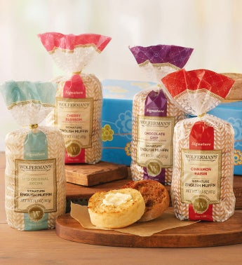 Spring Signature English Muffin Sampler
