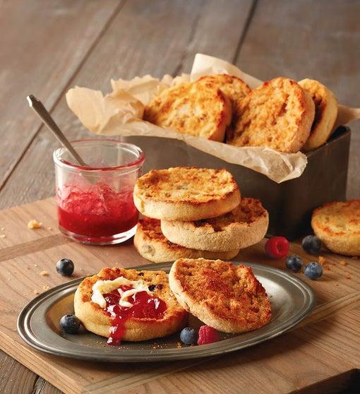 Traditional English Muffins Sampler