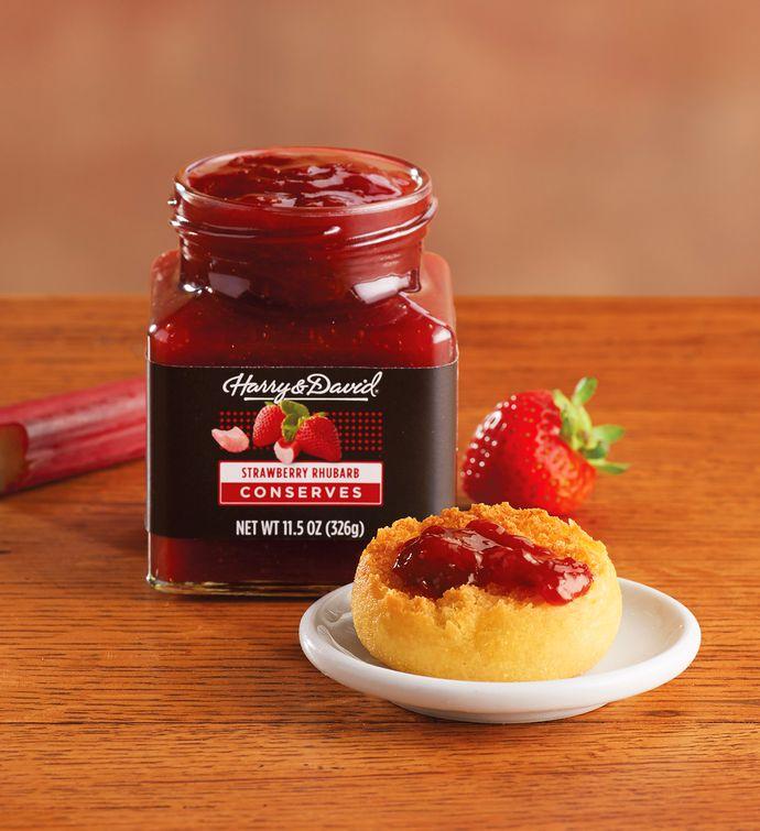 Strawberry Rhubarb Conserves