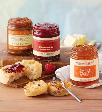 Mix  Match Preserves and Fruit Butters - 3 Jars