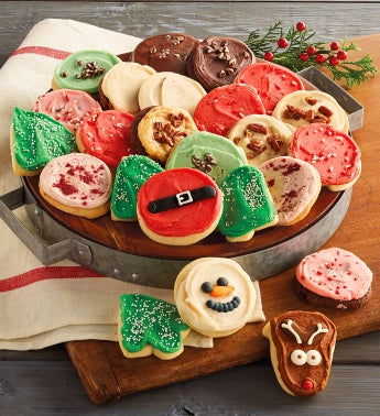 Cheryl's® Frosted Holiday Cookies – 24 Count