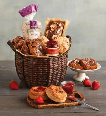 Brunch breakfast gift baskets wolfermans chocolate gift basket snipeimage negle