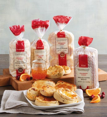 Cranberry Citrus English Muffin Variety Pack