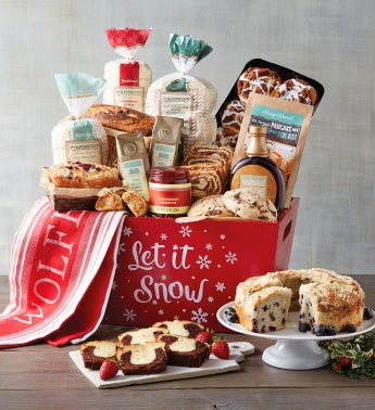 "Grand ""Let it Snow"" Gift Crate"