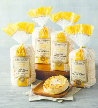 Wolferman's® Cheddar Cheese Super-Thick English Muffins