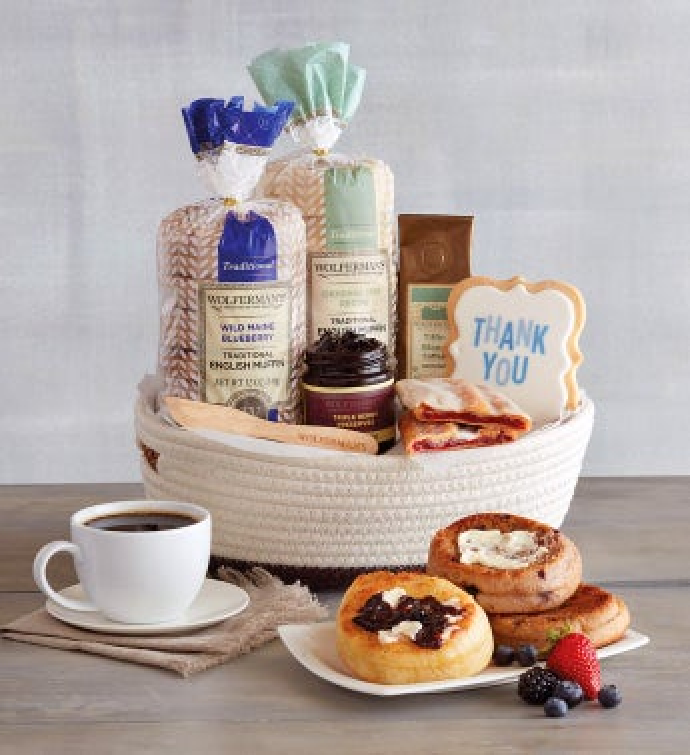 Brunch Breakfast Gift Baskets Wolfermans
