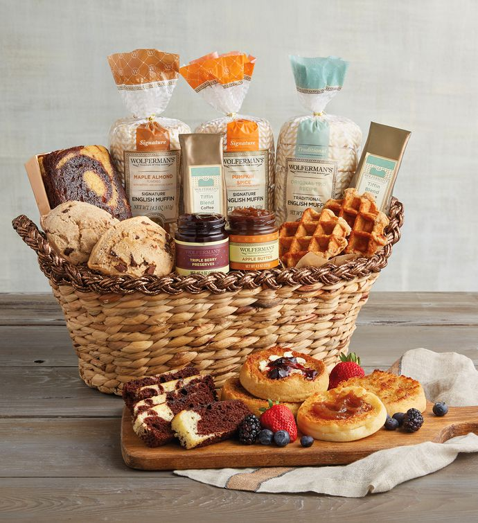 Gift baskets for christmas muffins