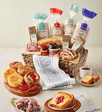 Grand Breakfast Gift Basket