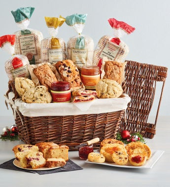 Holiday Bakery Gift Basket