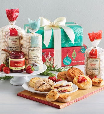 Deluxe Holiday Morning Gift Tower