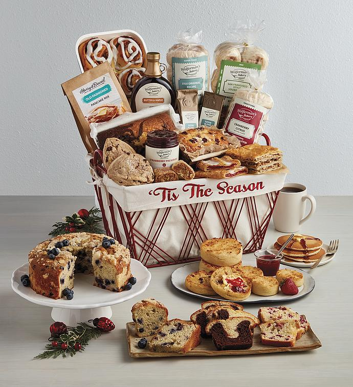 Grand Christmas Bakery Basket