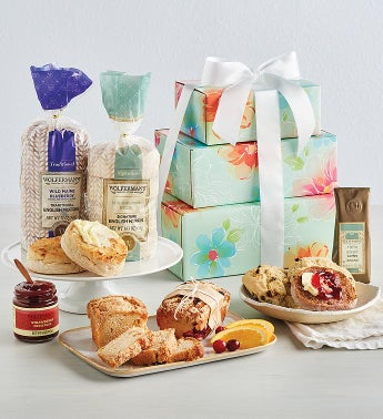 Springtime Bakery Gift Tower