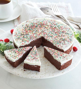 Christmas Chocolate Decadence Cake