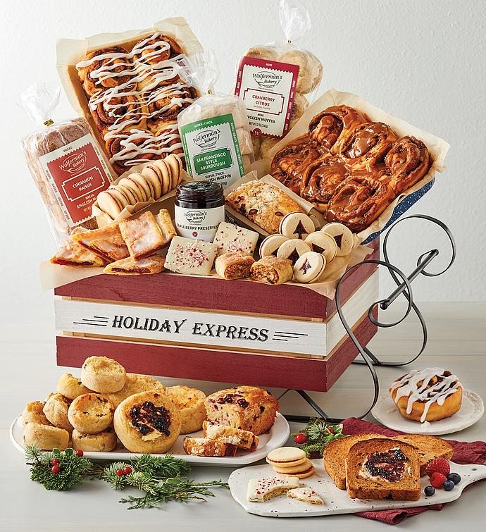Holiday Sleigh Bakery Gift