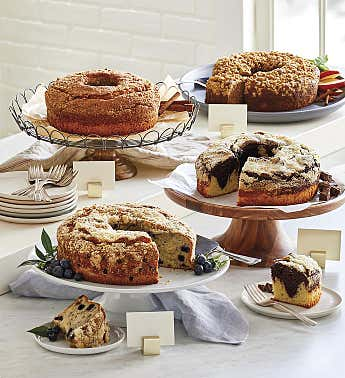 Mix & Match Coffee Cakes